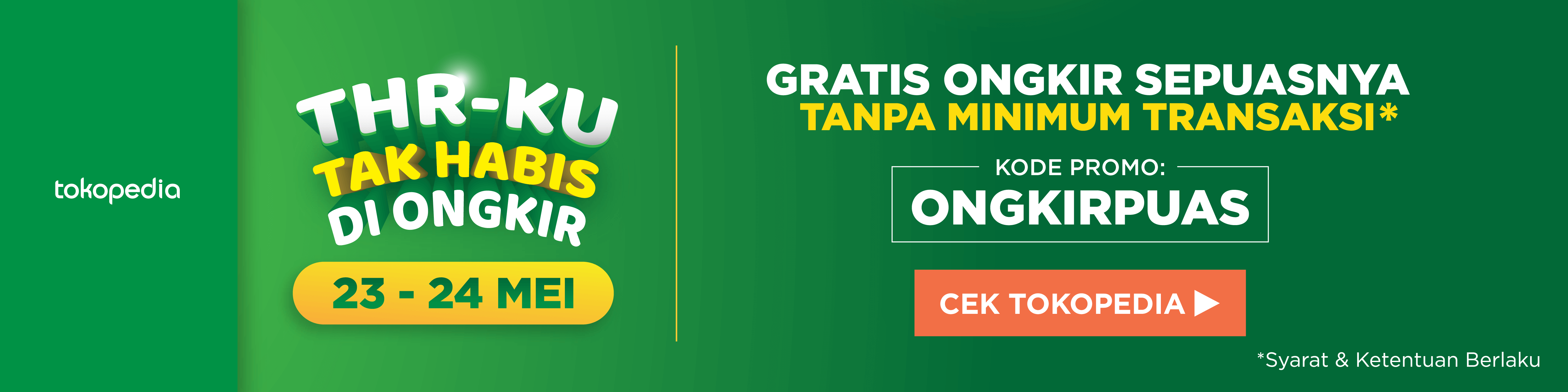 Tokopedia Extra 24 May