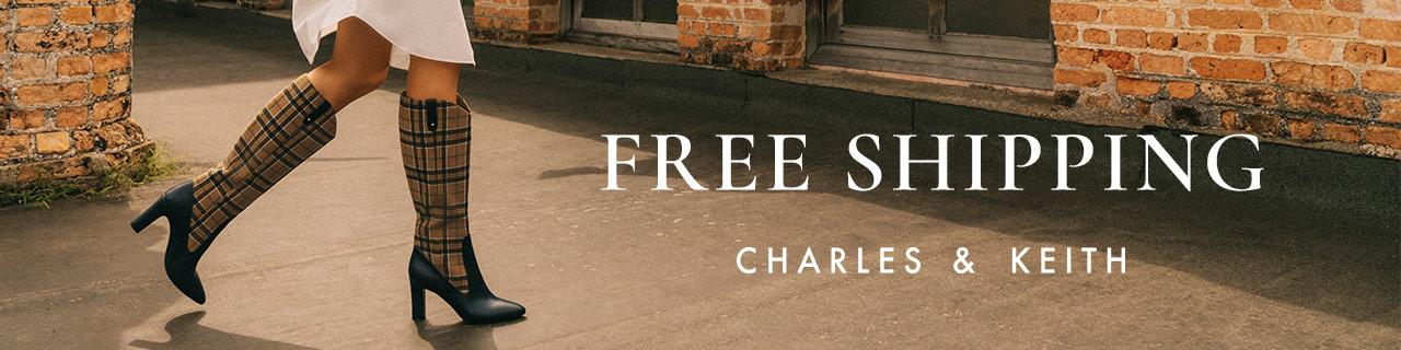 charles & keith free shipping