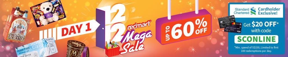 Redmart 1212 Mega SALE Up To 60 OFF