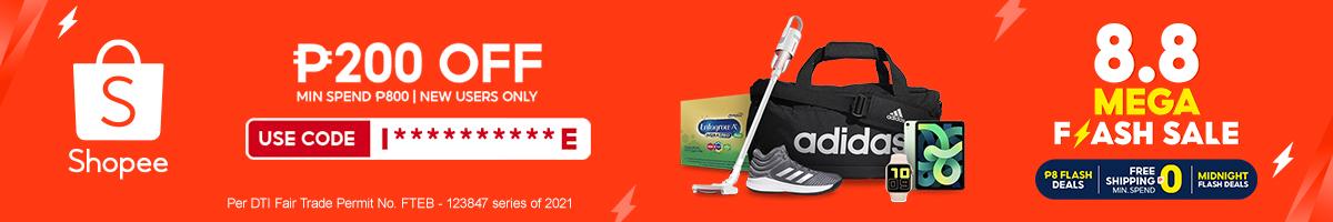 Shopee 8.8 Sale (Countdown)