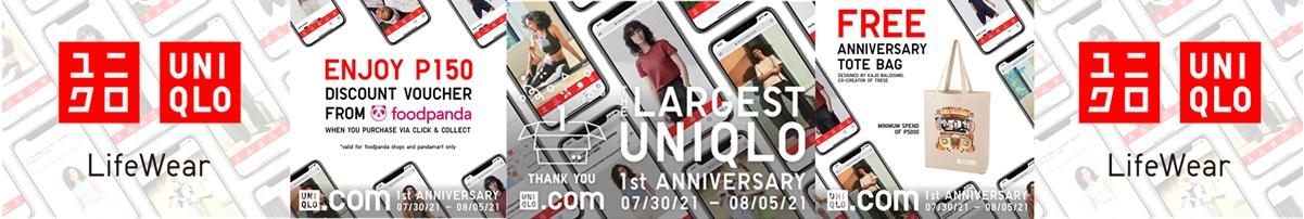Uniqlo 1st Anniversary Sale
