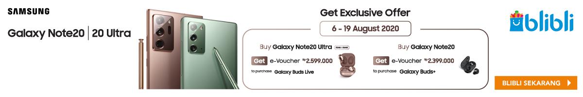 Blibli Samsung Note20