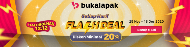 Bukalapak Flash Deal