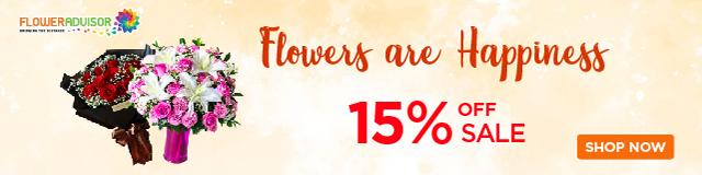 FlowerAdvisor September Promo