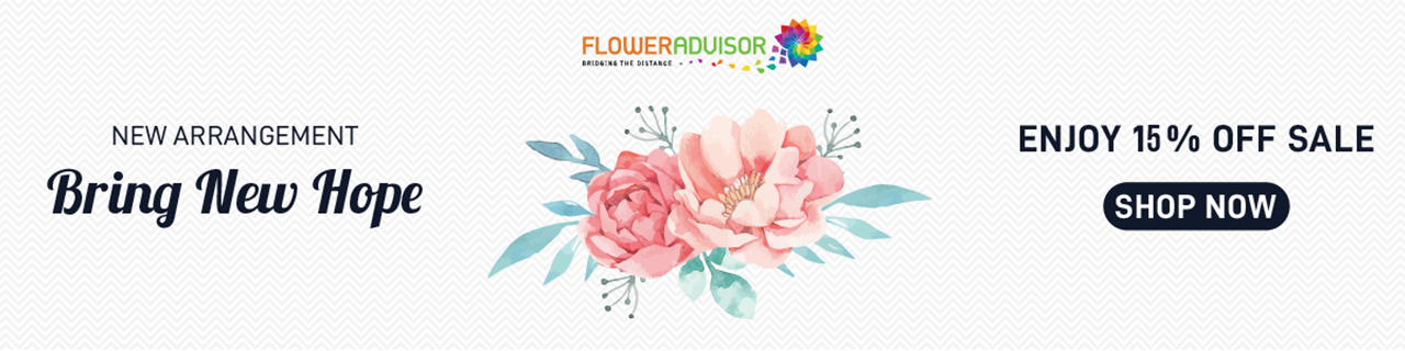 FlowerAdvisor New Year Sale Jan 2020