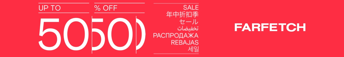 Farfetch Sale Up To 50% Off