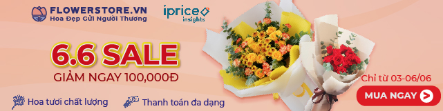 Flowerstore x iPrice 6.6 Campaign