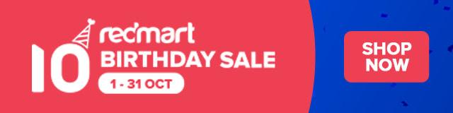 Redmart SG Birthday Sale October