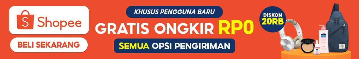 Shopee Gratis Ongkir Rp 0