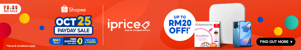 Shopee MY 11.11 - Payday Sale Oct 25