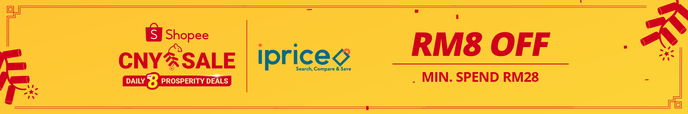 Shopee CNY Sale 2 - 28 Jan