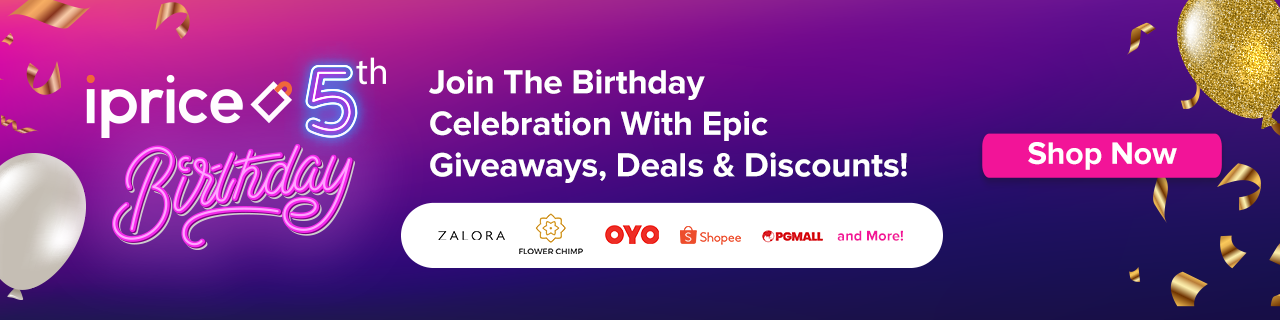 iPrice Birthday Giveaway
