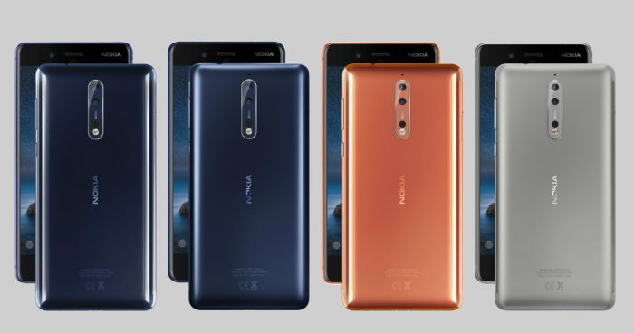 All About The Nokia 8