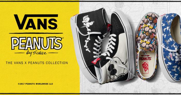 Back to the  80s dengan Sepatu Vans x Peanuts 08bb6aec50
