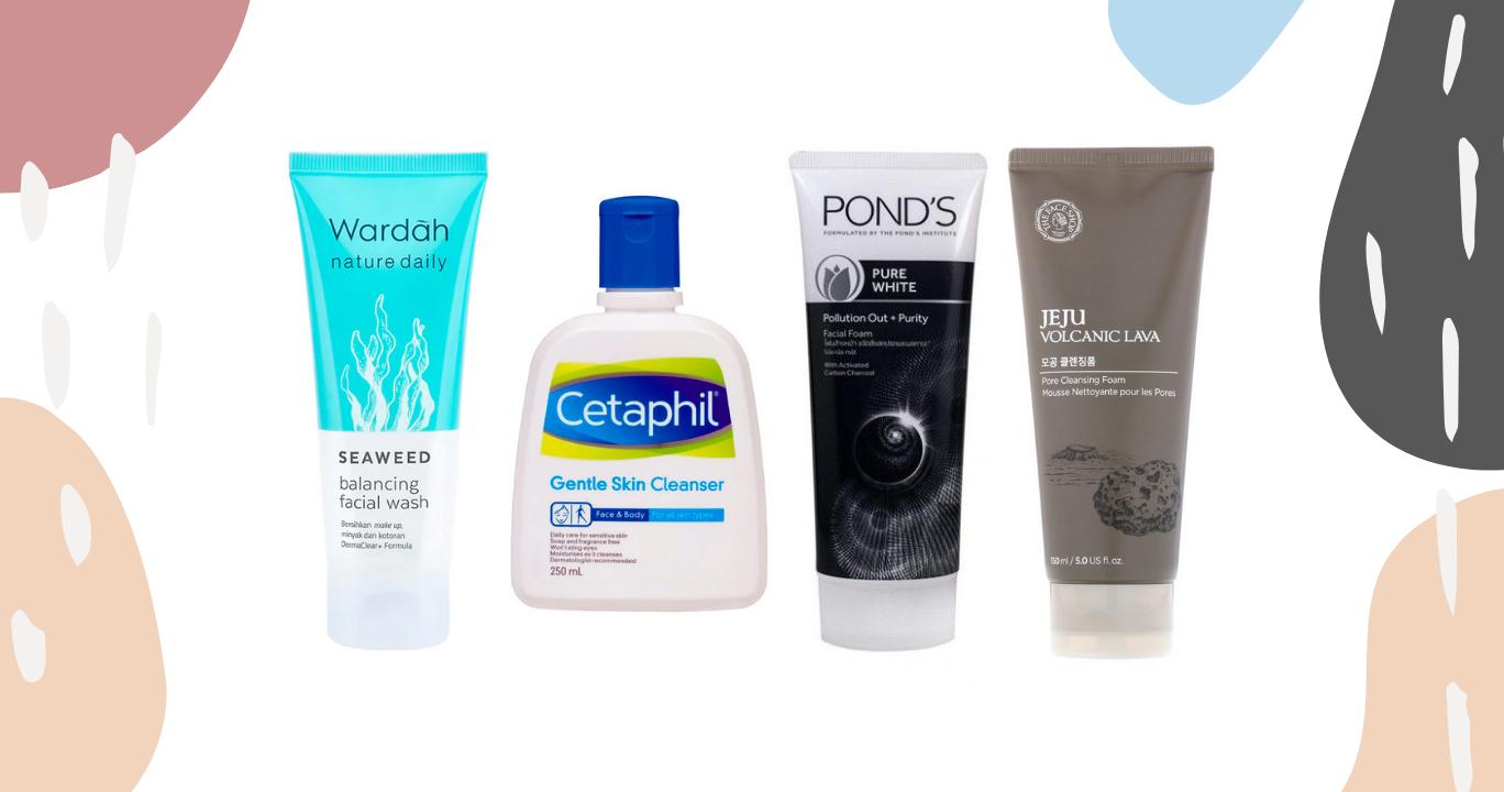 8 Face Wash Terbaik Ampuh Dan Aman Untuk Kulit Berjerawat