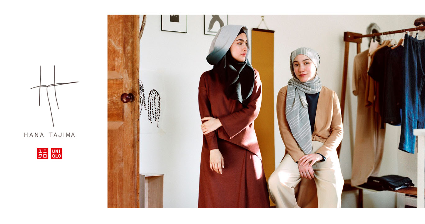 Lima Inspirasi Baju Muslim Modern dari Uniqlo x Hana Tajima