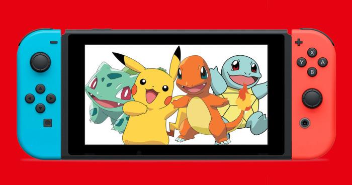 Pokémon x Nintendo Switch b9f7b54987