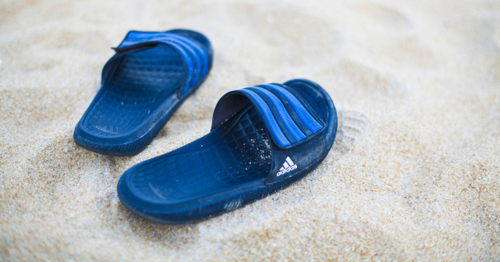 Slip into Post-workout Comfort with these adidas Slippers 27edbbfe6