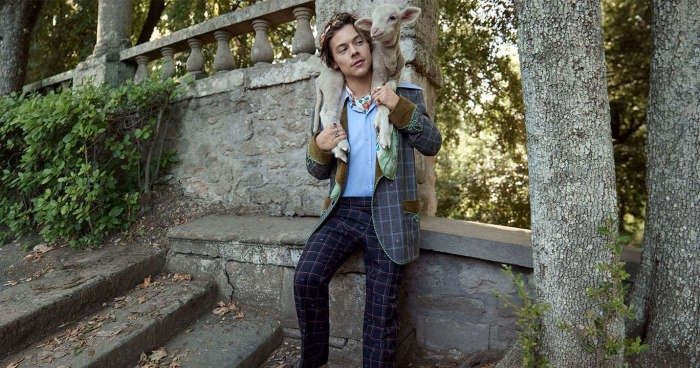 Style Pointers to Take from Harry Styles' Gucci Pre-Fall Campaign