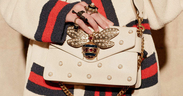 Tas Gucci Terbaru dengan Ikon Lebah 3f973632d9