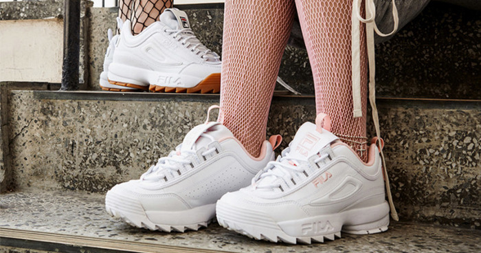 727832dd9b4063 Why These Chunky FILA Shoes Should Be Your New Go-To Sneakers